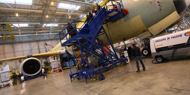 En 2018, 3 800 ont été créés au sein de la chaîne d'approvisionnement de la filière aérospatiale, qui regroupe les sous-traitants, les prestataires de services et les fournisseurs.