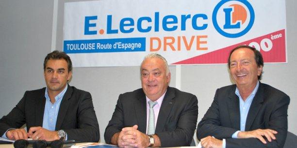 Toulouse michel edouard leclerc inaugure son 500e drive et d voile son plan de bataille - Roque sur garonne ...
