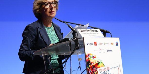 Geneviève Fioraso à Toulouse