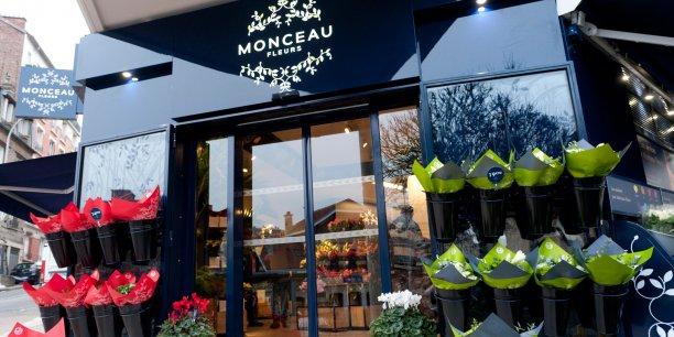 Monceau Fleurs, une enseigne qui offre la possibilité de se lancer avec une boutique déjà en activité !