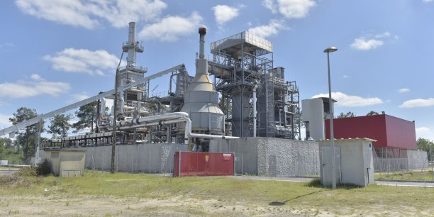 La centrale Cho Power à Morcenx.