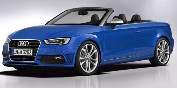 audi a3 cabriolet une vw golf d couvrable version chic. Black Bedroom Furniture Sets. Home Design Ideas