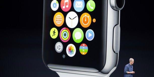 En version de luxe plaquée or, le prix de la Watch d'Apple pourra atteindre 1.000 dollars, souligne Danielle Levitas, analyste chez IDC.
