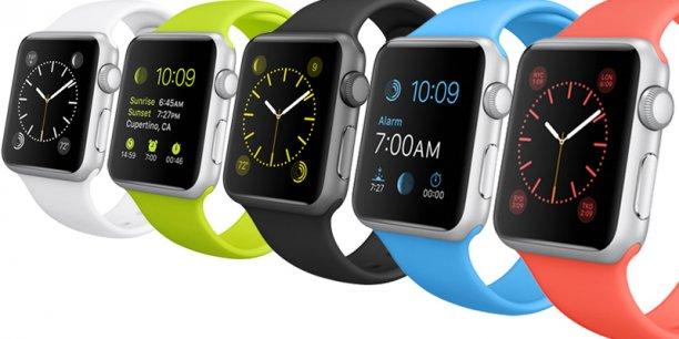 L'Apple Watch, que tout le monde attendait sous le nom d'iWatch.