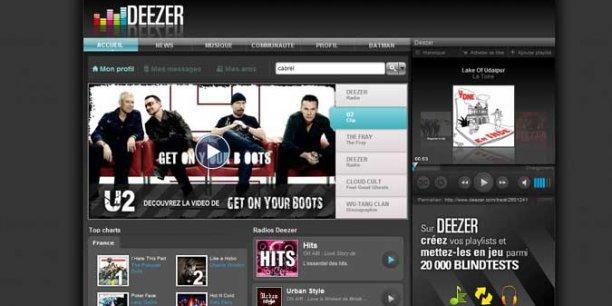 Après avoir levé 104 millions en 2012, Deezer travaille sur une nouvelle levée de fonds qui le valoriserait 1,1 milliard d'euros.