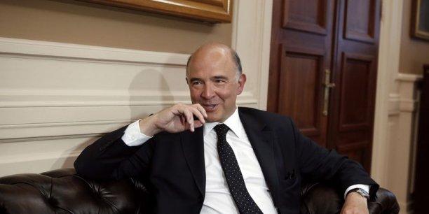 Pierre Moscovici veut séduire la gauche et la droite européenne