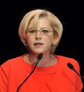 Corina Cretu, 47 ans, est devenue la nouvelle commissaire européenne chargée de la politique régionale.