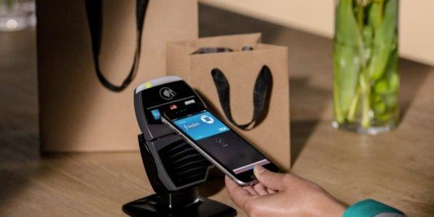 Apple Pay, le système de paiement sans contact d'Apple, est doté de plusieurs niveaux de sécurité. APPLE.