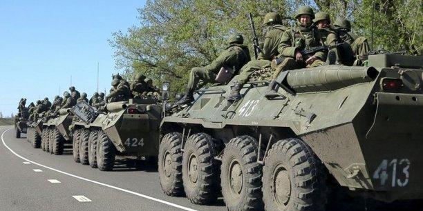 Moscou continue de nier les accusations de fourniture de troupes aux séparatistes pro-russes dans la région du Donbass.