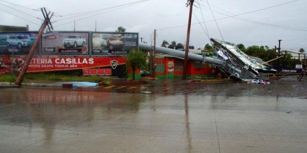 L'ouragan Odile au Mexique a engendré des pertes économiques de 3,2 milliards de dollars.