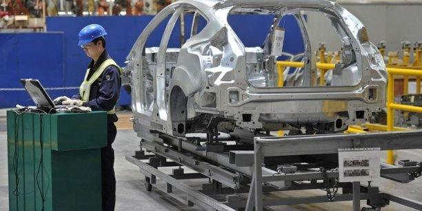 La production industrielle chinoise a déçu les marchés en août, confirmant le ralentissement de l'économie chinosie.