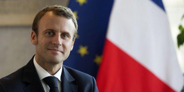 Le ministre de l'Economie Emmanuel Macron s'est plaint d'une fièvre (...) qui s'appelle chômage de masse.
