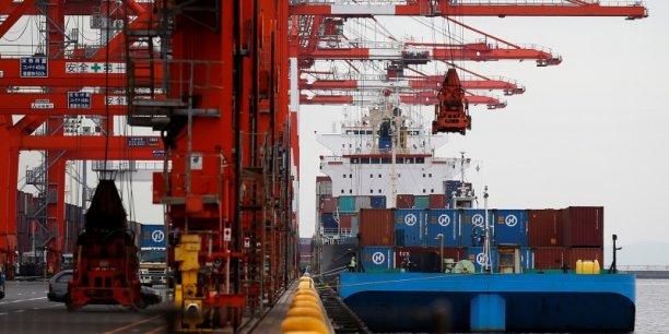 La diminution du déficit commercial est essentiellement due à un rebond des exportations.