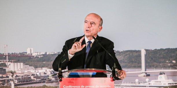 Alain Juppé, président de la Communauté urbaine de Bordeaux