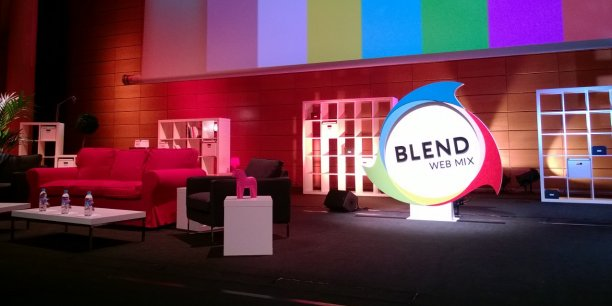 La première édition du Blend Web Mix a réuni 800 personnes à Lyon en 2013