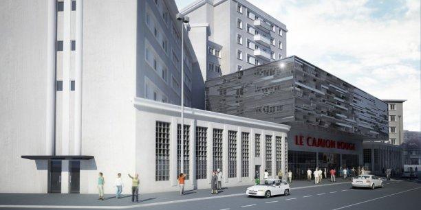 Le programme de réhabilitation de l'ancienne caserne de pompiers représente un chantier à plus de 16 millions d'euros.