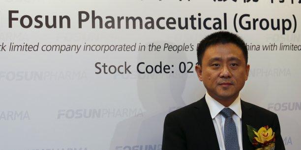 Proposant un prix de 4,72 euros par action, Fosun (ici, son vice-président Chen Qiyu) valorise Espirito Santo Saude à 451 millions d'euros, a annoncé le groupe chinois dans un communiqué.