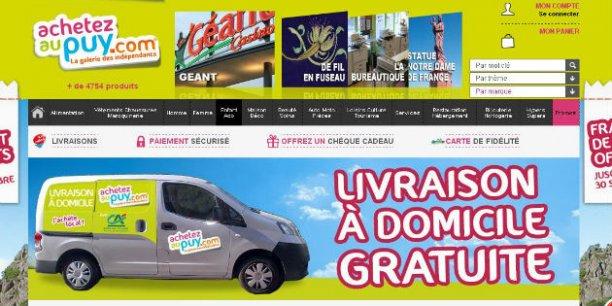 Au Puy-en-Velay (Haute-Loire) par exemple, des commerçants associés via l'office de commerce et d'artisanat de la ville, ont lancé leur e-boutique.