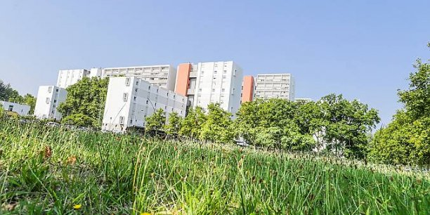 L'opération des 50.000 logements va démarrer sur 12 des 28 communes de la CUB, comme aux Aubiers, ci-dessus