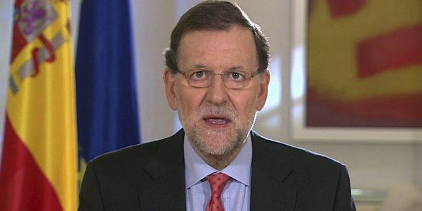Le Premier ministre espagnol, Mariano Rajoy,