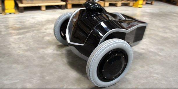 Truffé de capteurs, le robot E-vigilante peut atteindre une vitesse de 10 km/h lorsqu'il est en intervention spéciale.