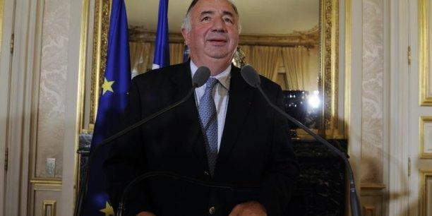 Gérard Larcher (UMP), président du Sénat