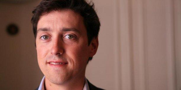 Loic Tanguy, le fondateur de la plateforme communautaire Les Grappes, sorte de Facebook du vin.