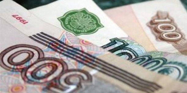 La chute du rouble a déjà provoqué une envolée des prix en Russie, accentuée par l'embargo décrété par les autorités russes sur la plupart des produits alimentaires occidentaux.