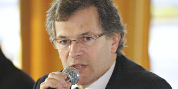 Jean-François Clédel, président du Medef de la Gironde.