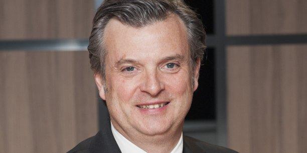 Jacques Maureau, président de l'Ordre des experts-comptables de Rhône-Alpes.