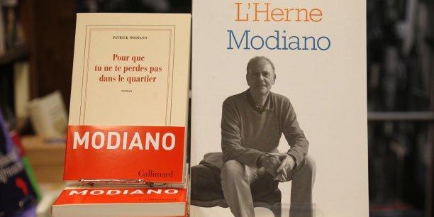 Gallimard a prévu la réimpression globale de 250.000 ouvrages de son auteur, Henri Modiano, récompensé en 2014.
