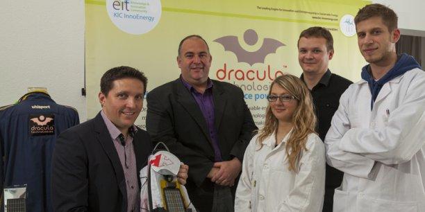 La jeune startup a mis au point un panneau photovoltaïque de troisième génération.