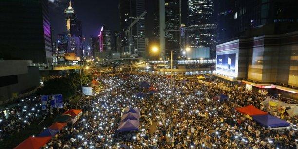 Le mouvement étudiant à Hong Kong repart et gagne en vigueur[reuters.com]