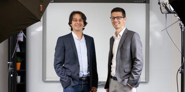 Après les révisions, Anthony Kuntz et Thierry Debarnot, co-fondateurs, misent sur l'orientation