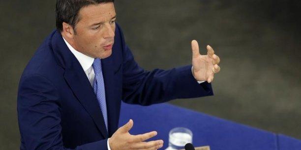 Mattezo Renzi, premier ministre italien