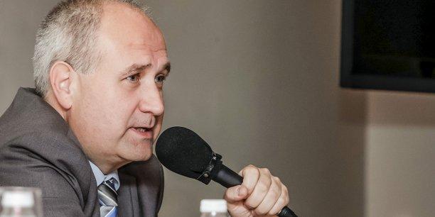 Christophe Masson, président du directoire du Grand Port maritime de Bordeaux