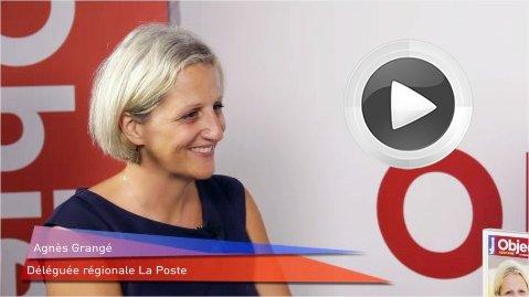 Agnès Grangé, déléguée régionale du groupe La Poste