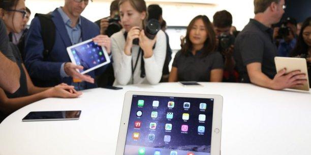 Le nouvel iPad Air 2.