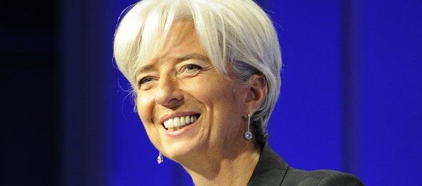 Christine Lagarde, numéro 1 du FMI, dit soutenir le projet chinois de banque d'investissement.