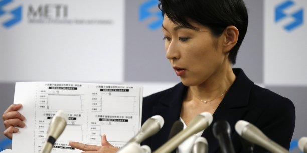 Première à partir: la ministre de l'Economie, première femme à détenir ce portefeuille.