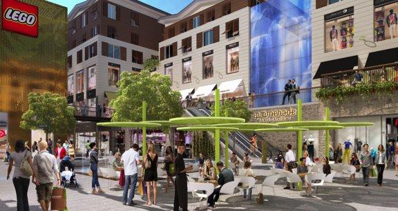 A un an de son ouverture, l'ensemble de commerces Promenade Sainte-Catherine, affiche un taux d'occupation de plus de 75 %.