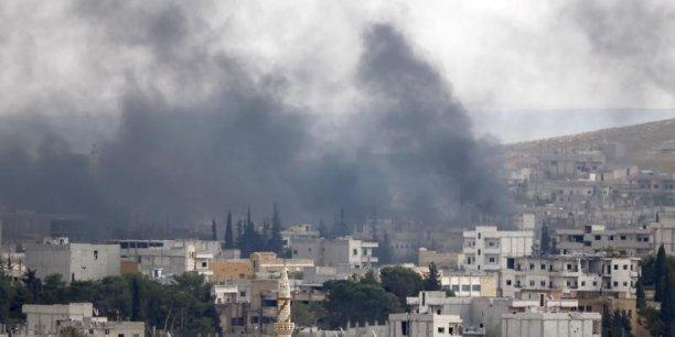Les frappes aériennes de la coalition internationale doivent permettre de contenir la progression de Daech en Irak et en Syrie.