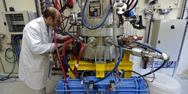 Ce projet international de construction à Cadarache, près de Marseille, d'un premier réacteur de démonstration est conçu pour générer 500 MW d'énergie par fusion à partir d'un apport de 50 MW