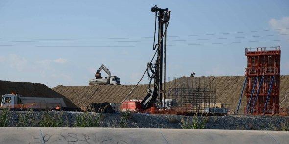 Le chantier du doublement de l'A9 est à mi-parcours.