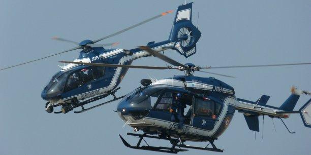 Fabriqués par Airbus Helicopters, 15 EC135 et 15 EC145 ont été livré à la gendarmerie nationale