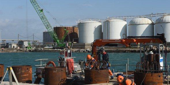 La Région Languedoc-Roussillon engagent d'importants travaux sur le port de Sète-Frontignan, qui seront livrés en 2015 et 2016.