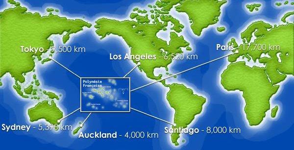 La Polynésie et les COM du Pacifique sont au centre du monde, d'un certain point de vue