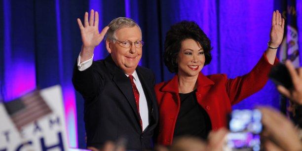 A 72 ans, Mitch McConnell, qui a facilement conservé mardi son siège de sénateur dans le Kentucky (centre-est), va incarner l'opposition au président Obama.