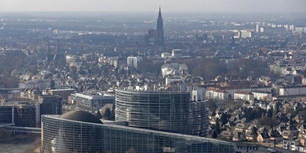 Strasbourg cumulera le statut de capitale européenne et celle de la nouvelle région Champagne-Ardenne/Lorraine/Alsace