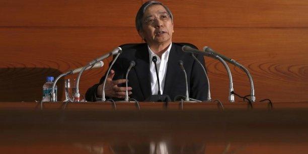 Haruhiko Kuroda a néanmoins précisé que l'inflation n'est pas un but unique et ultime.
